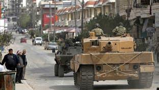 شمال سوريا.. الجيش التركي يقصف 6 بعفرين بالسلاح الثقيل