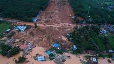 Myanmar troops help flood rescue after landslide kills 48