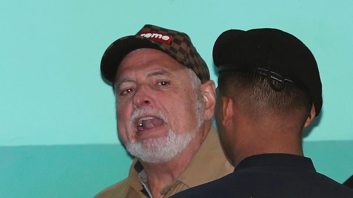 Ricardo Martinelli and police, panama, 2019 - Reuters