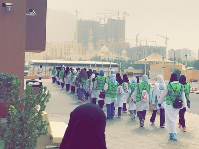 حكاية 650 متطوعاً يقدمون خدمات إسعافية لضيوف الرحمن