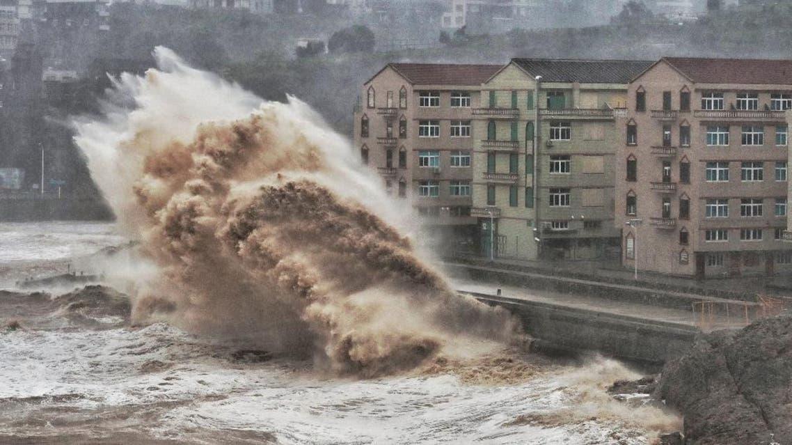 China typhoon AFP