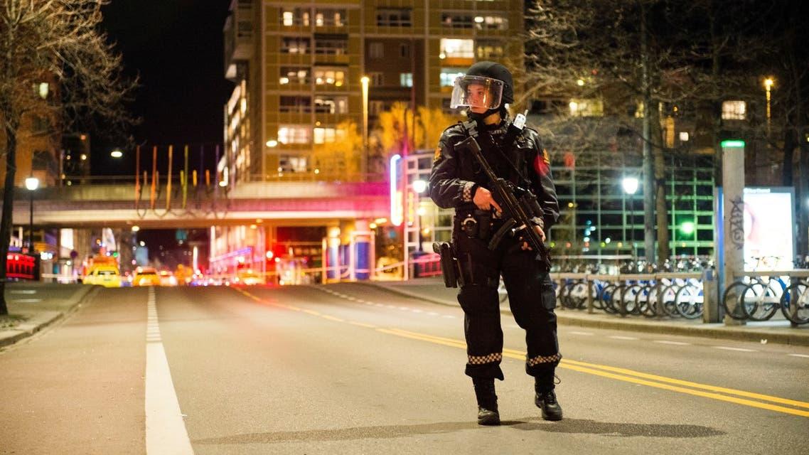 عنصر من الشرطة النرويجية