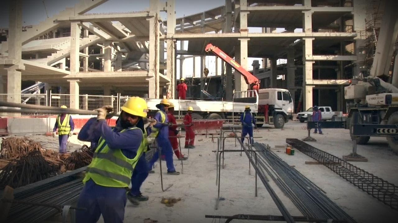 من أحد المواقع في قطر