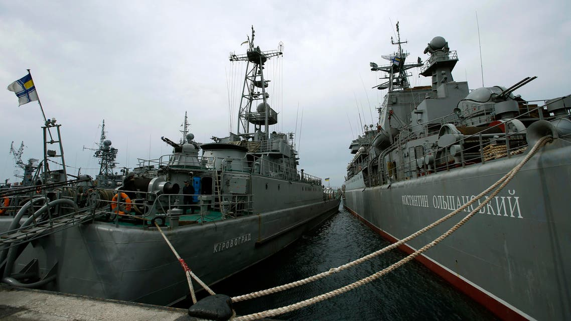 Crimea Russia ship - Reuters