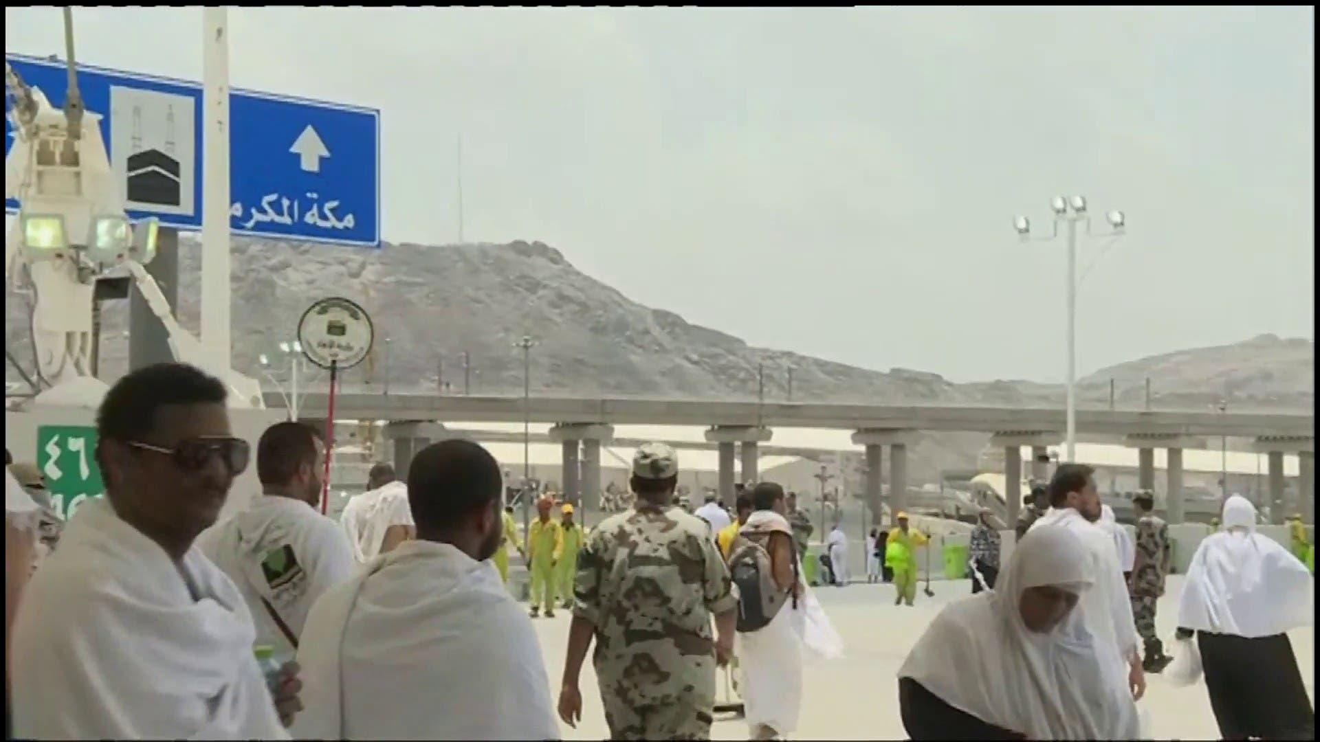 Nearly 300,000 pilgrims to 'stone the devil' per hour in one of final Hajj rites