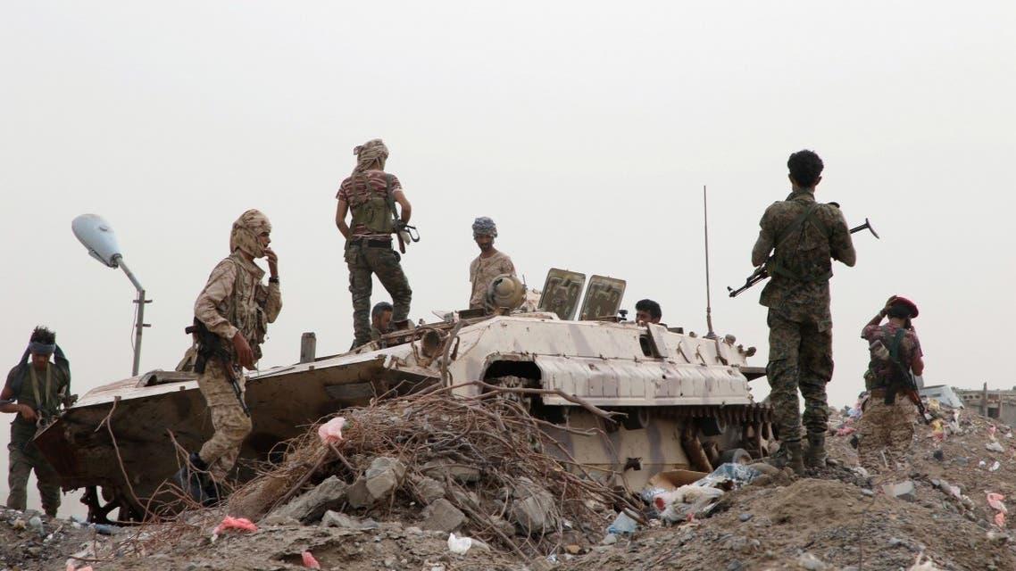 قوات من الانفصاليين في عدن