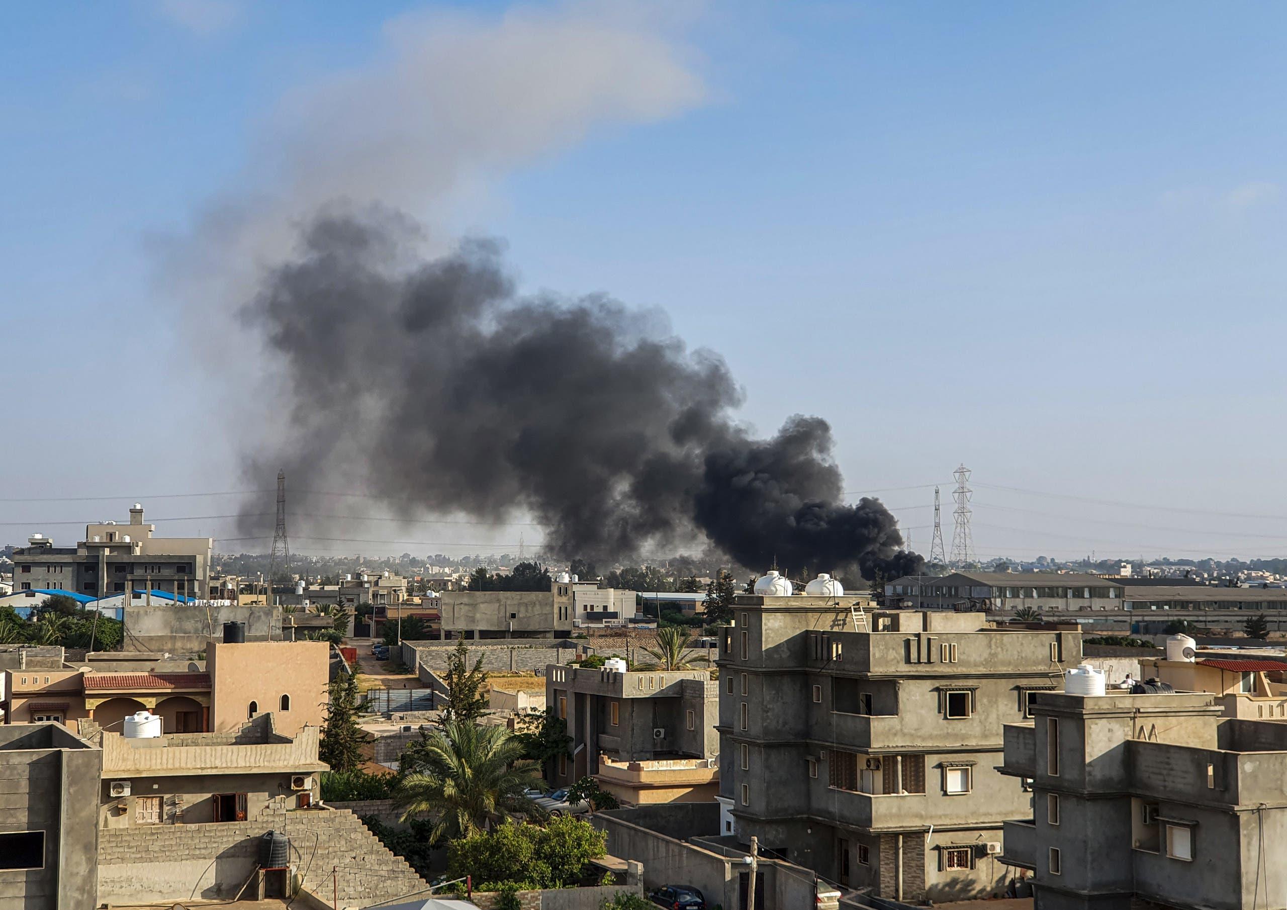 من طرابلس الليبية (أرشيفية)
