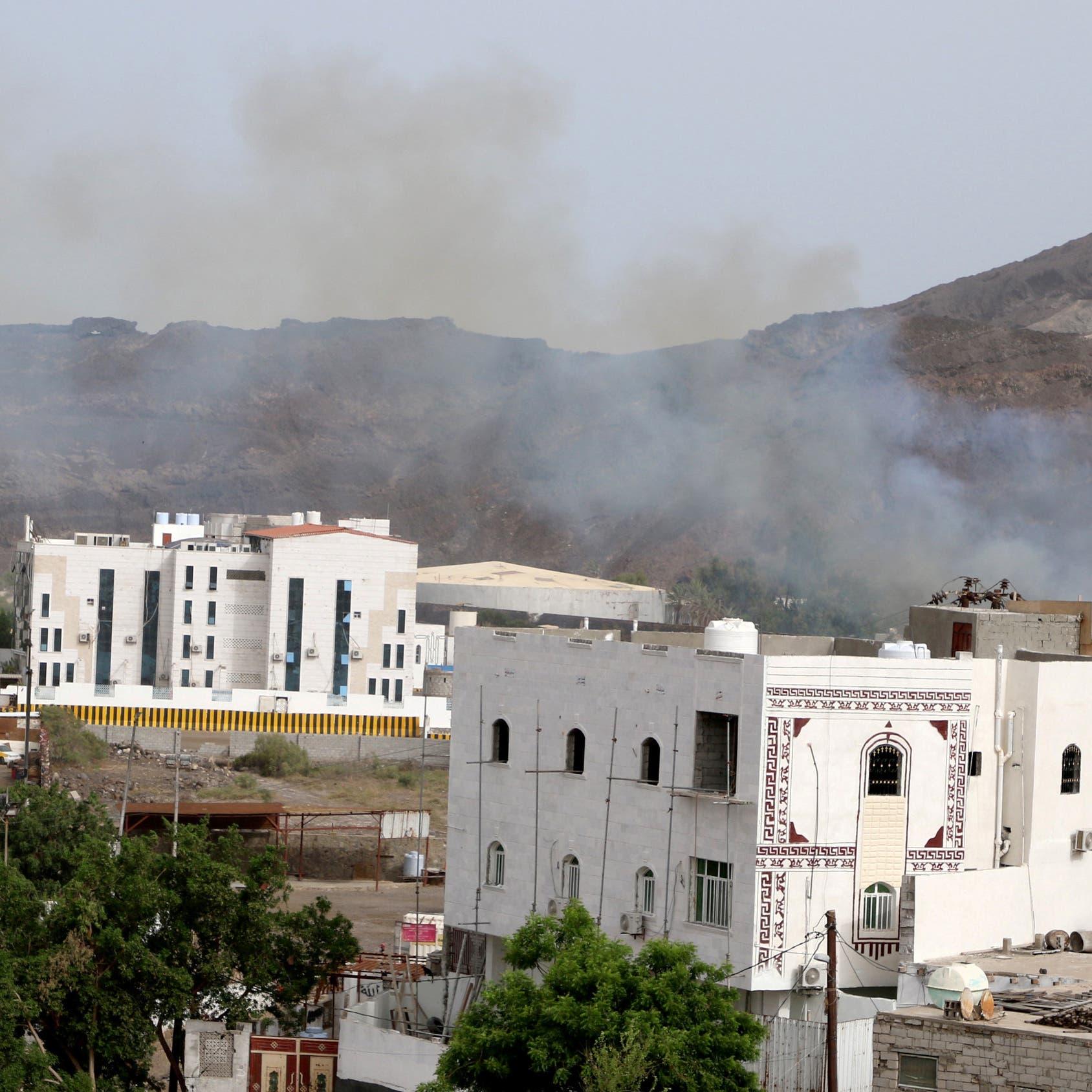 """التحالف: بدء انسحاب """"الانتقالي"""" من بعض المواقع في عدن"""