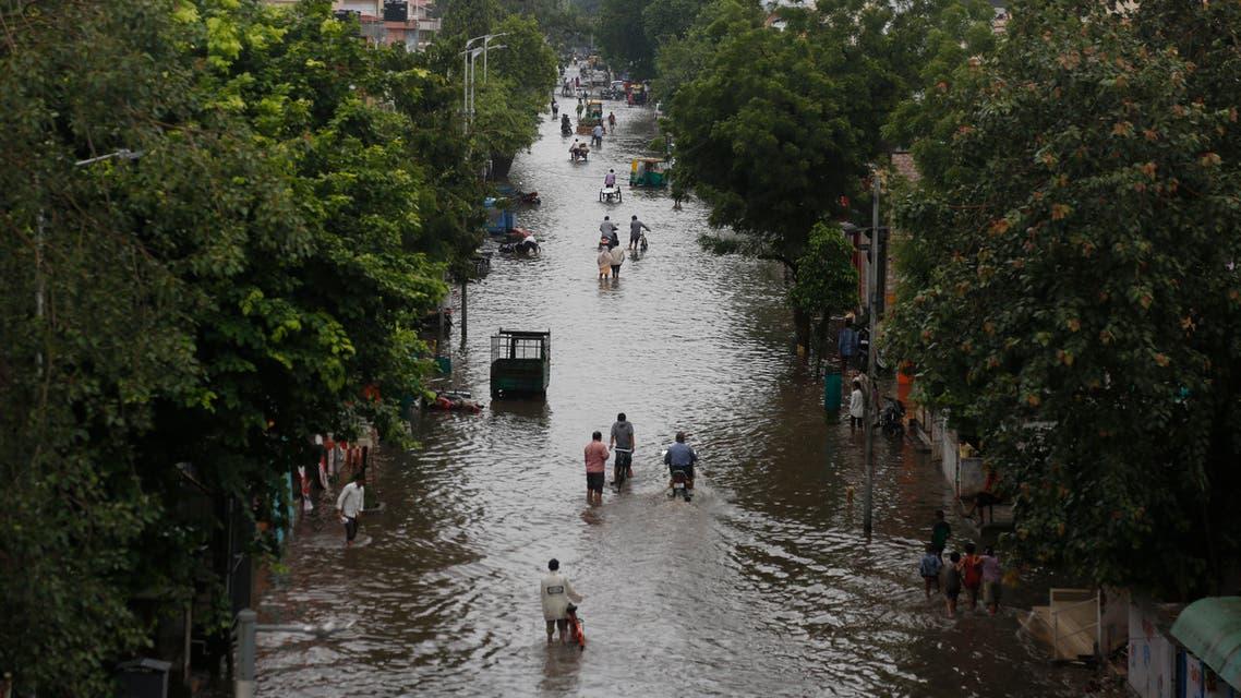 الهند فيضانات