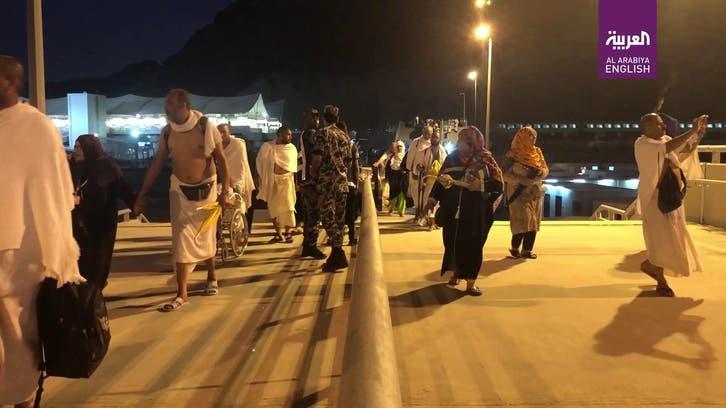Nearly 2.5 mln Hajj pilgrims stay overnight in Muzdalifah after Arafat