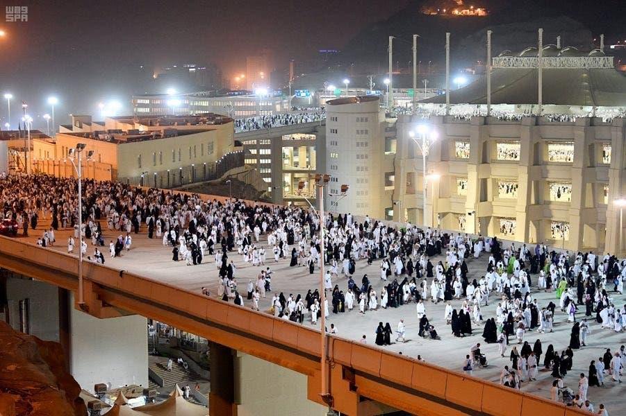 Pilgrims on Hajj in Mecca. (Saudi Press Agency)