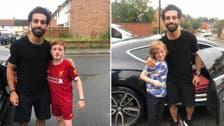 """هذه قصة """"دماء"""" الطفل الإنجليزي مع اللاعب محمد صلاح"""