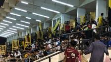 شاشات عملاقة في ملعب الاتحاد لنقل مباراة الفريق الآسيوية