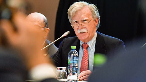 بولتون في لندن لحث بريطانيا على تشديد موقفها تجاه إيران