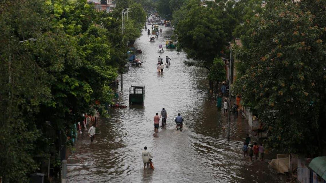 india: flood