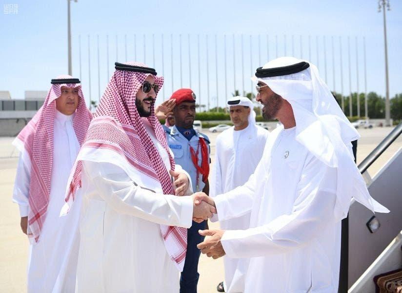 Abu Dhabi Crown Prince Sheikh Mohammed bin Zayed Al Nahyan arrives in Jeddah, where he is received by Saudi Vice Minister of Defense Prince Khalid bin Salman.
