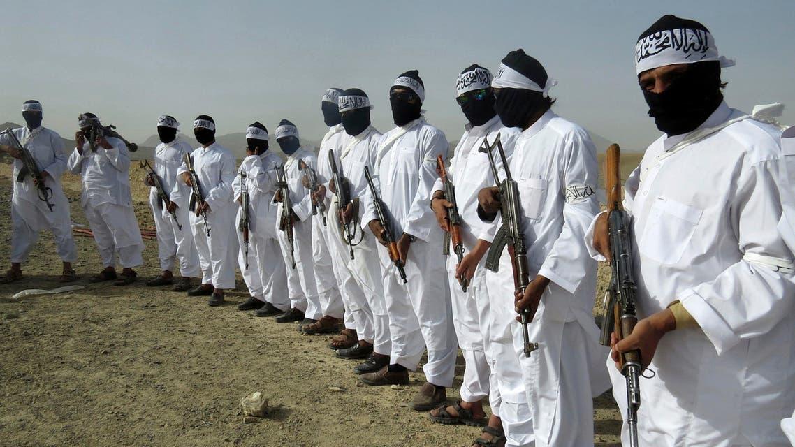 Taliban soldiers - AP