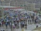 صور.. أمطار غزيرة تهطل على المشاعر المقدسة