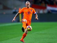 الهولندي شنايدر يعلن اعتزال كرة القدم