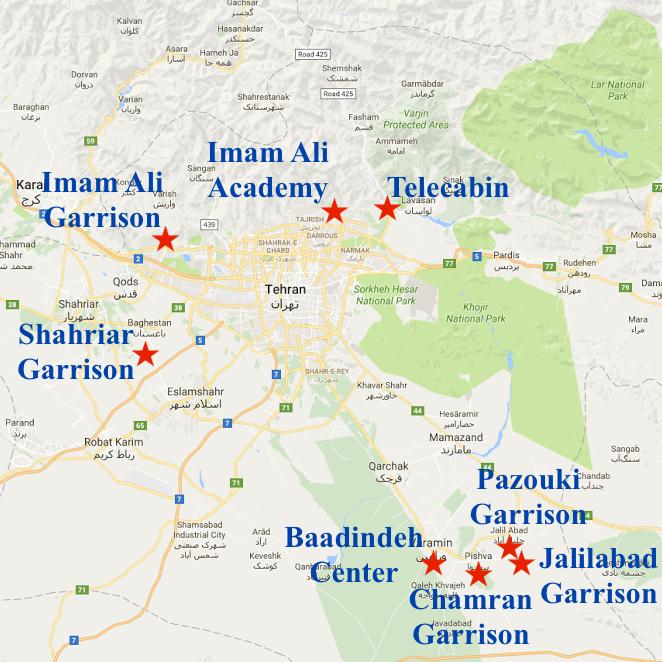 تقرير: 14 معسكراً إيرانياً لتدريب إرهابيين لمهاجمة أهداف غربية