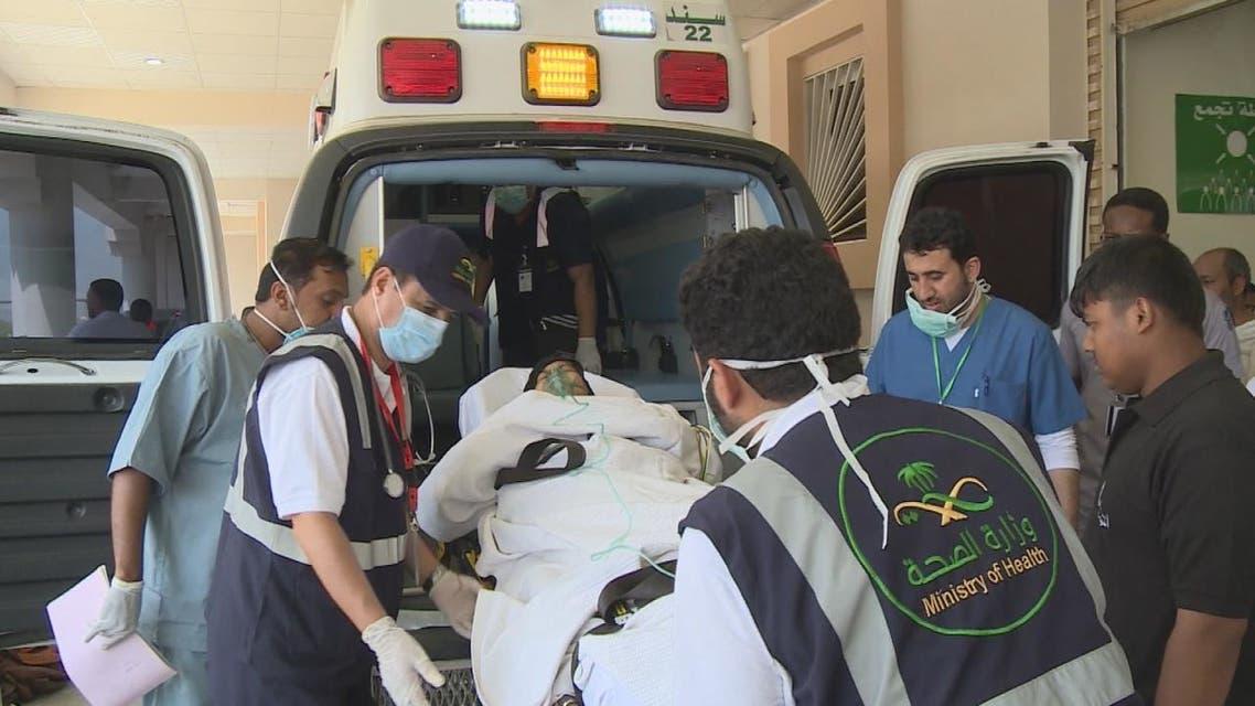 الجهود السعودية الصحية خلال الحج