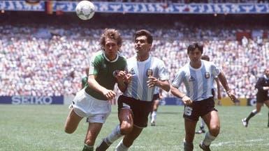 وفاة الأرجنتيني براون بطل كأس العالم 1986