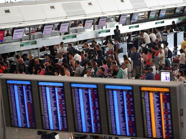"""قلق أممي حول """"القمع"""" بهونغ كونغ.. وتعليق رحلات المطار"""