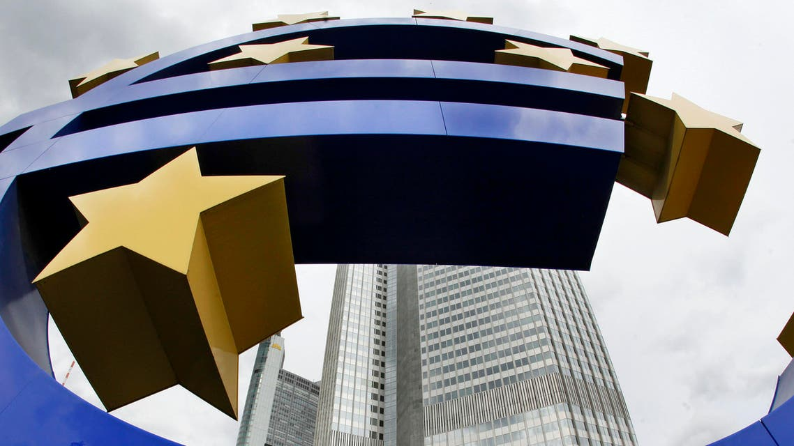 Euro sign finance currency stocks markets - AP
