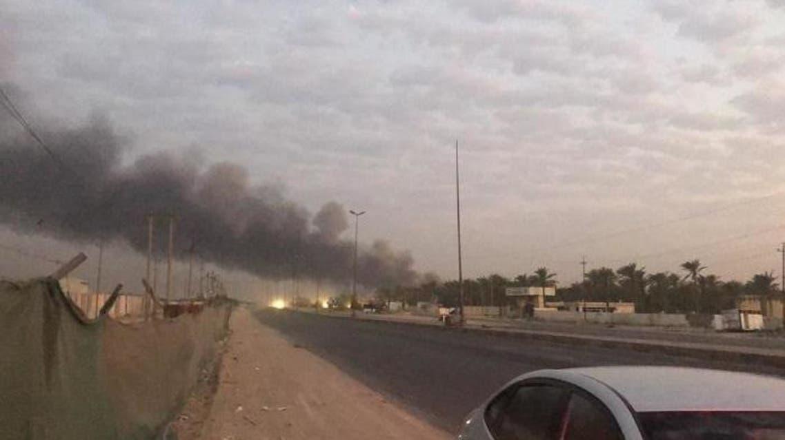 انفجار الحشد الشعبي بغداد