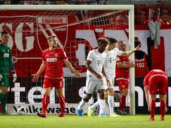 بايرن يحجز مقعده في الدور الثاني لكأس ألمانيا