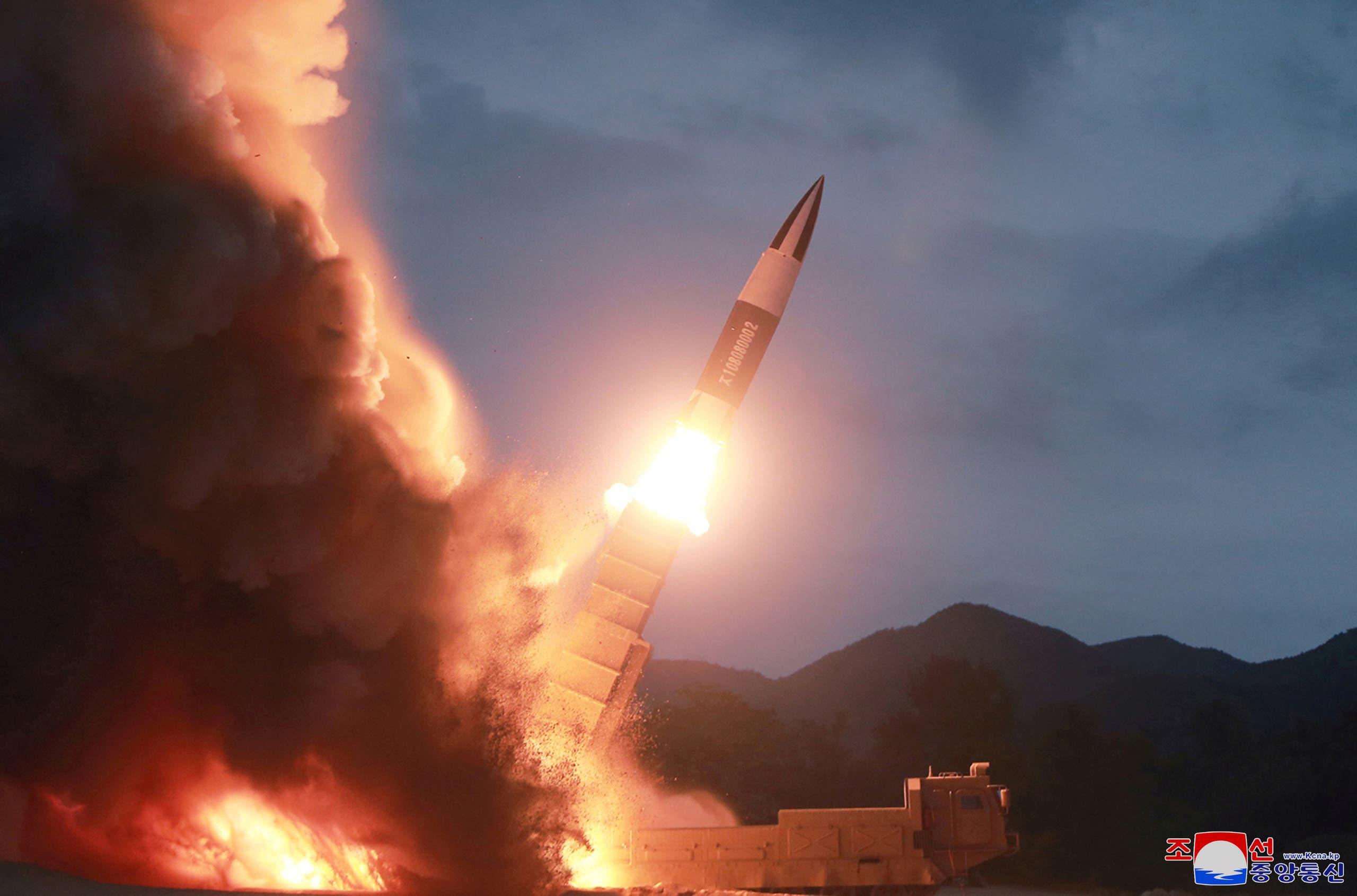 كوريا الشمالية تختبر إطلاق سلاح جديد