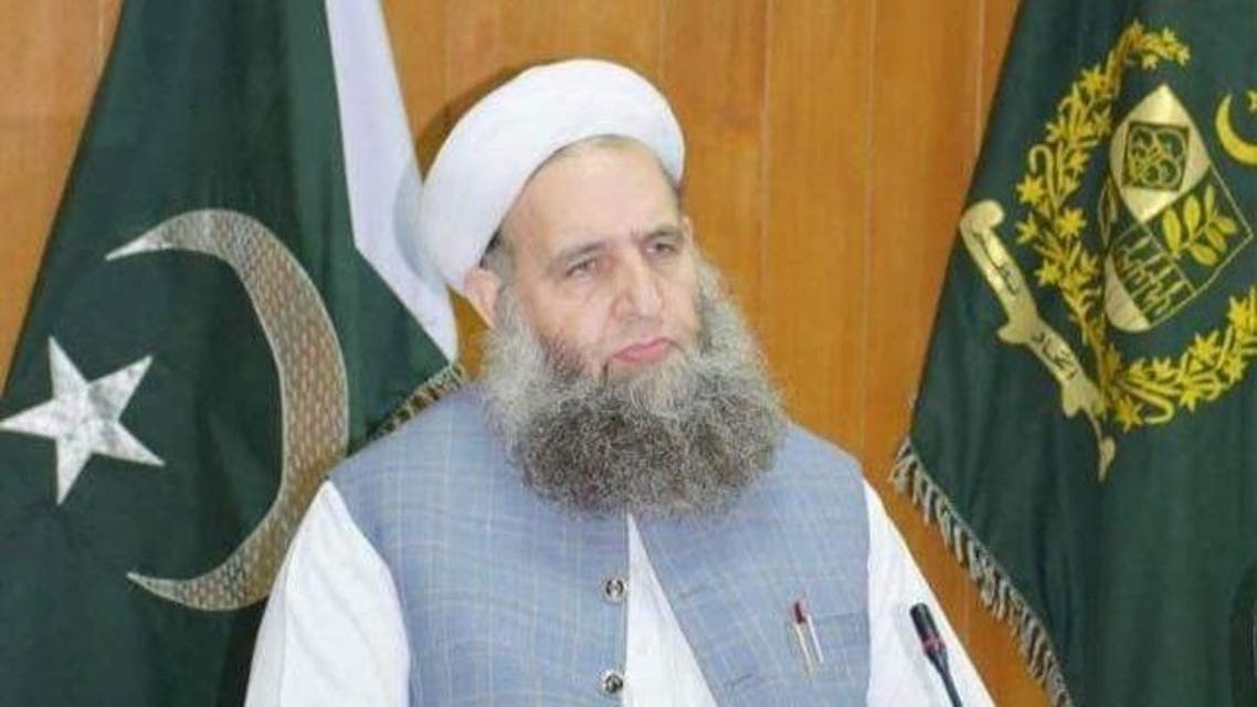 وفاقی وزیر مذہبی امور پیر نور الحق قادری