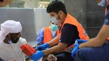 شاهد.. متطوعو الهلال الأحمر مندفعون لخدمة الحجاج