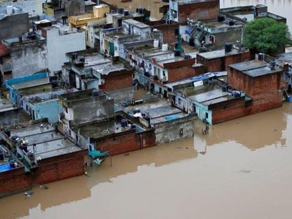 تحذير من فيضانات جديدة في جنوب الهند والحصيلة 244 قتيلا