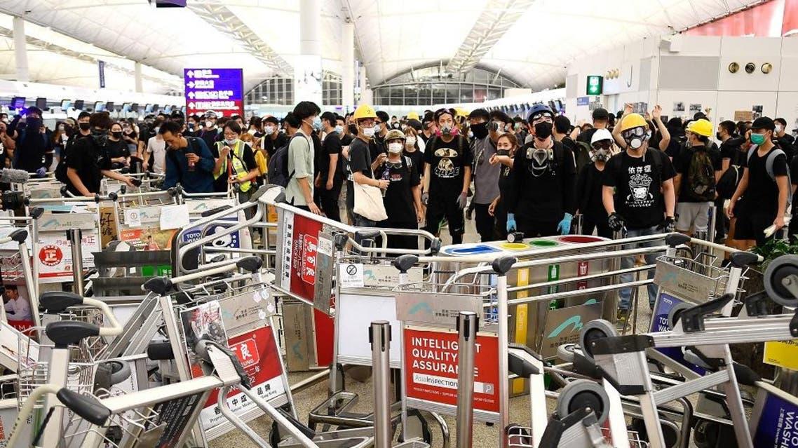hong kong airport afp