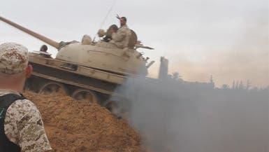 هجوم كاسح.. الجيش الليبي يتوغل ويصل مدخل غريان