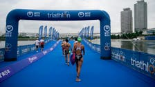 Olympic triathlon test event in Tokyo shortened over extreme heat fears