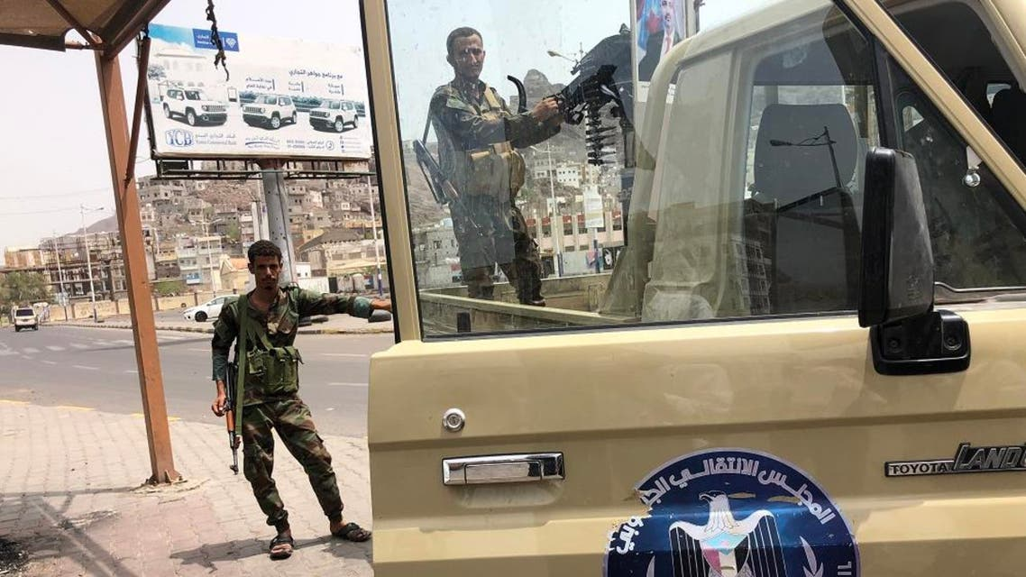 Southern Transitional Council STC Aden,Yemen. AFP