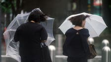 Typhoon blows across Tokyo area, killing one, halting travel