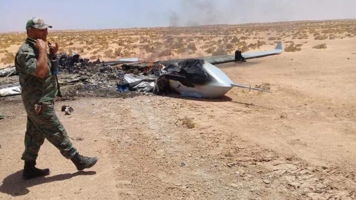 الطائرة التي أسقطها السلاح التركي