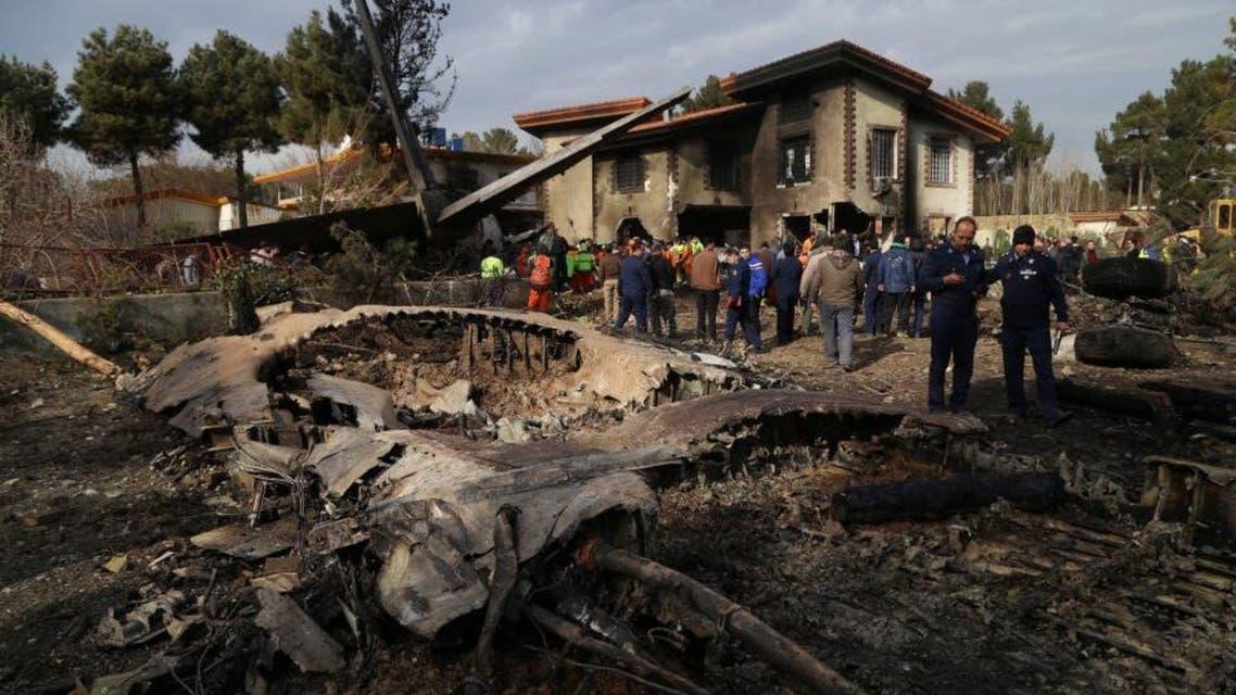 ایران میں طیارہ حادثہ