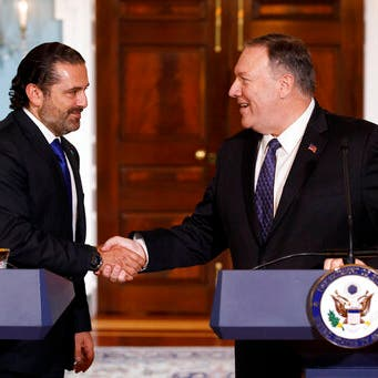 بومبيو للحريري: حزب الله يهدد لبنان