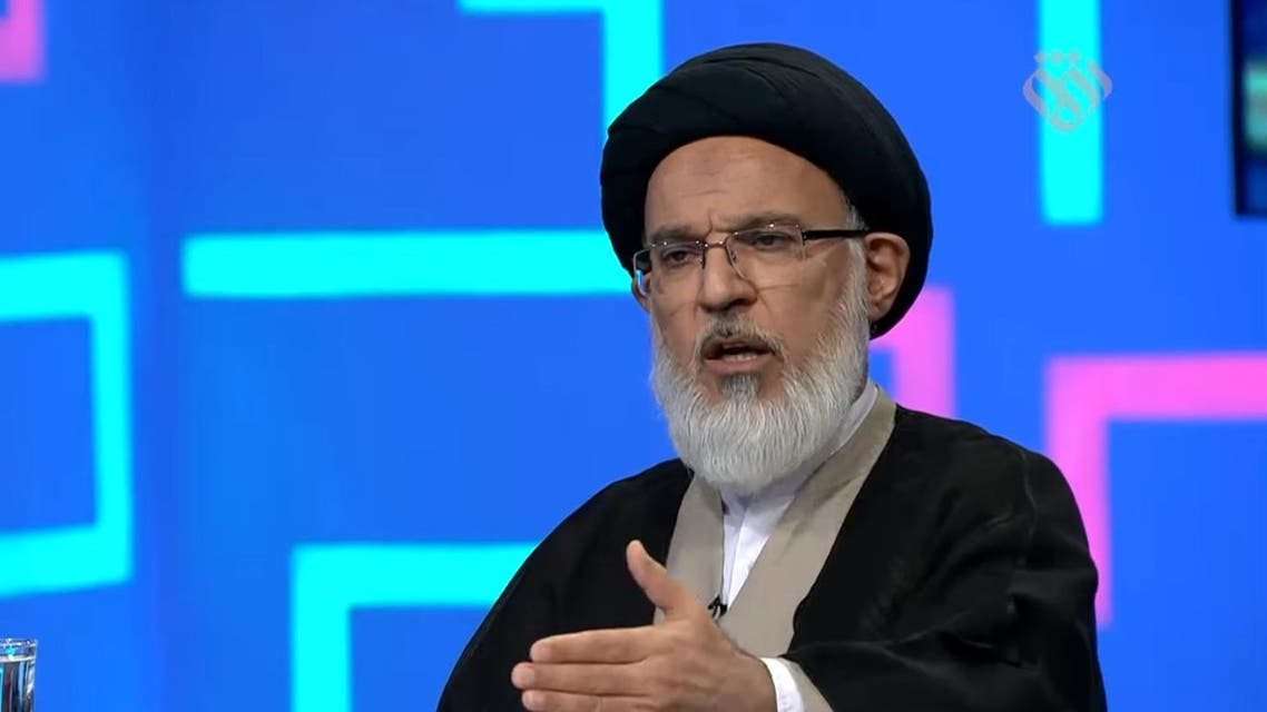 Mohammad Mehdi Mirbagheri. Iranian cleric. screen grab