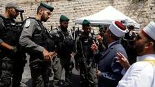 اسرائیلی وزیر کی قیادت میں یہودی آباد کاروں کا مسجد اقصی پر دھاوا