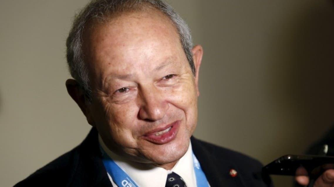 رجل الأعمال نجيب ساويرس مؤسس مهرجان الجونة السينمائي
