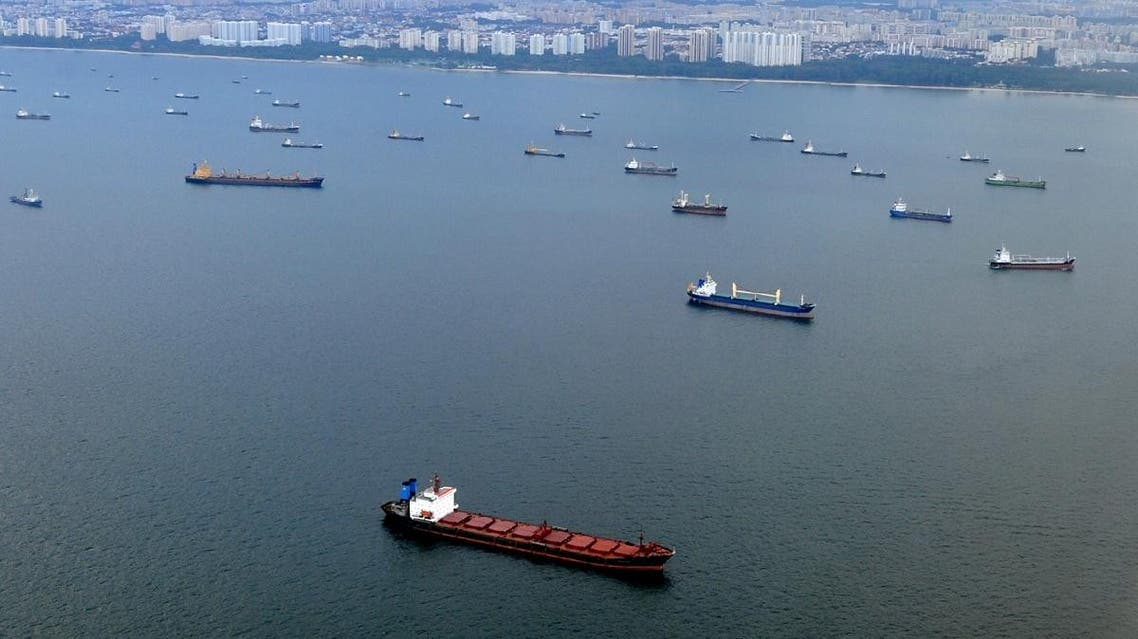 File photo of the Strait of Malacca which is considered one of the most important shipping lanes in the world providing links between major Asian economies like India, China and Japan. (File photo: AFP)