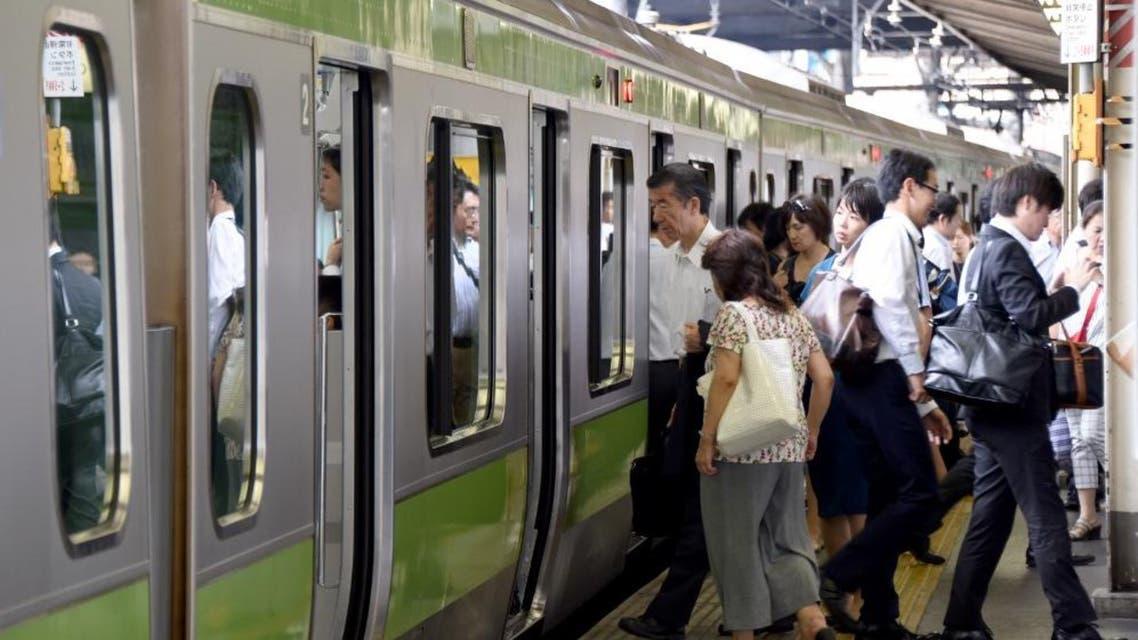 Tokyo Japan rail AFP