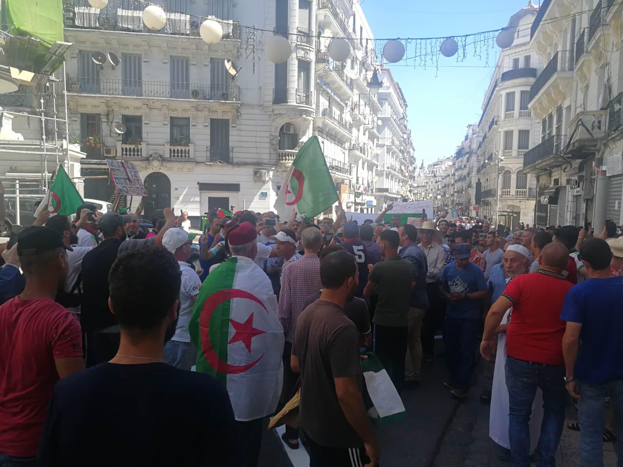 من احتجاجات الجزائر