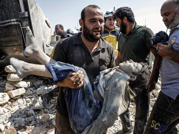 مقتل أم وأولادها الستة في غارات للنظام على شمال غرب سوريا