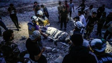 مقتل 15 مدنياً في غارات النظام وروسيا على إدلب